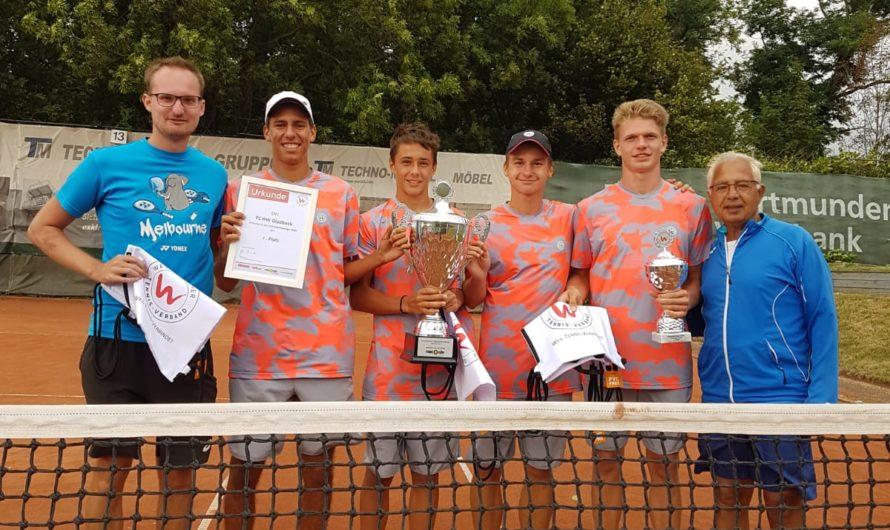 U18 des TCHW gewinnt die Westfalenliga