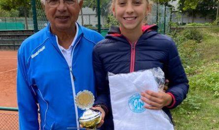 Leticia und Ion bei der NRW-Meisterschaft