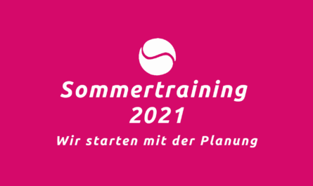 Planung Sommertraining