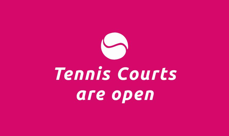 Neue Corona-Verordnung: Ab Montag wieder Tennis